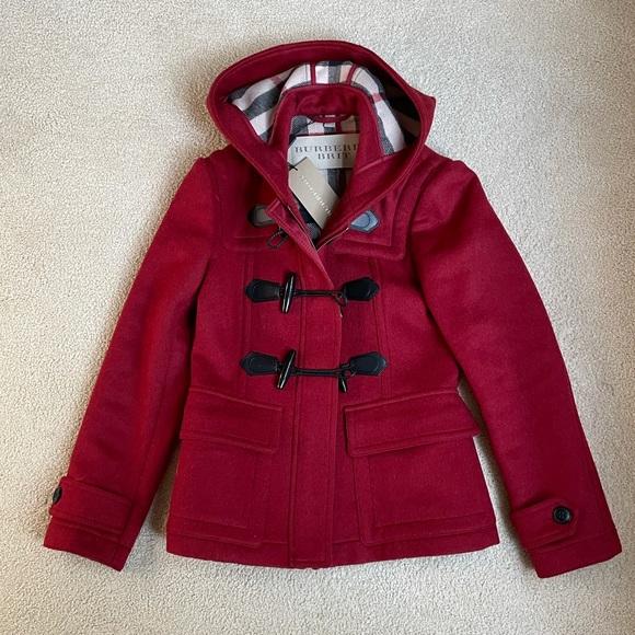 NWT Burberry Brit wool coat